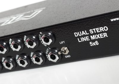 dual stereo line mixer 7
