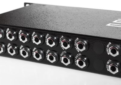 dual stereo line mixer 8